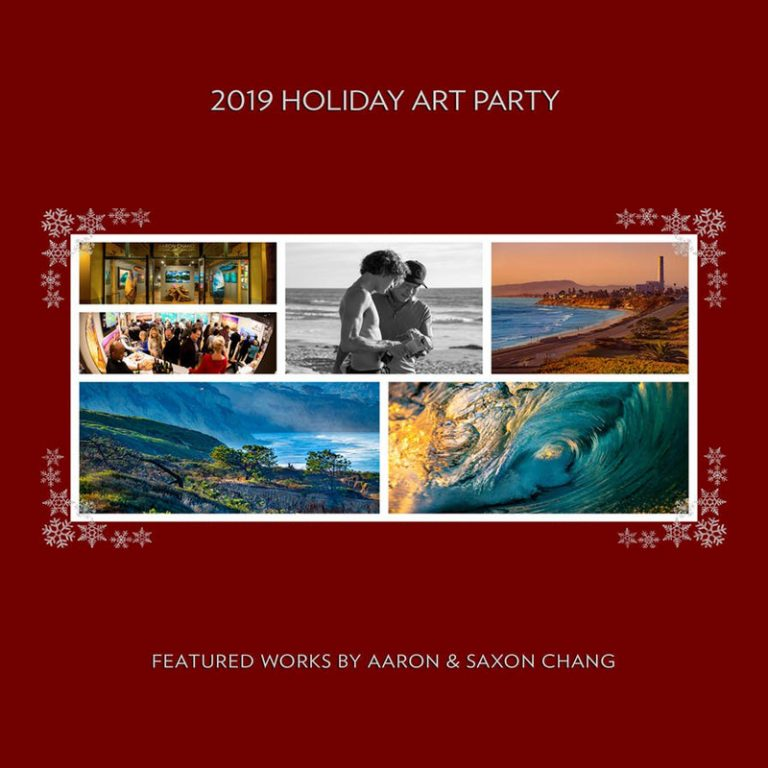 Aaron Chang Holiday Art Party