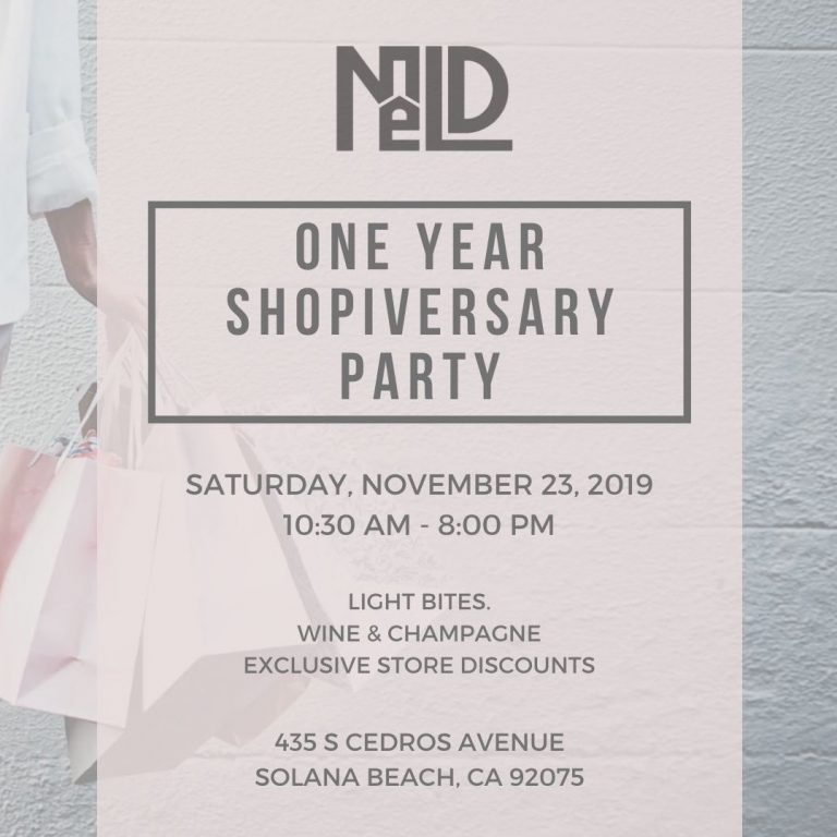 One-Year Shopiversary Party
